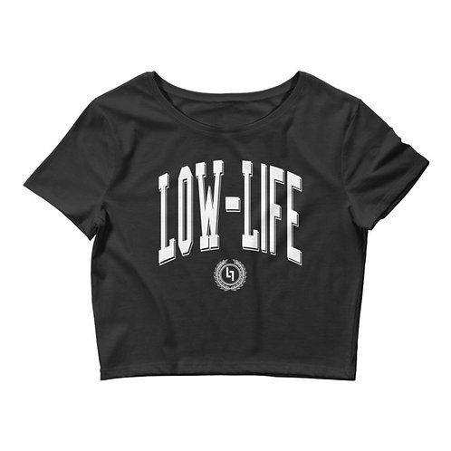 Low Life Collegiate Crop T-Shirt