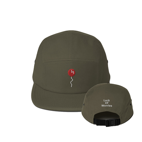 Red Balloon 5 Panel Hat