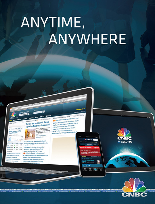 CNBC  Digital/print advertising and OOH - art direction and design.