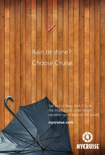 NYCruise itineraries include Bermuda, Canada New England, Europe, the Caribbean, and world cruises. Each terminal is easily accessible from all NYC airports and from the area's major roadways.  Art direction and design for digital and print OOH campaigns, social media, and advertising.