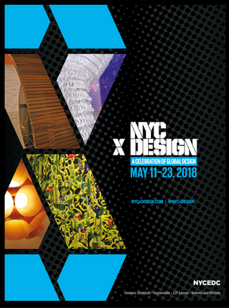 NYCxDESIGN is a festival of international design professionals and enthusiasts, gathering to experience design and influence the future through exhibitions, installations, trade shows, panels, product launches, open studios, and more.  Art direction and design.