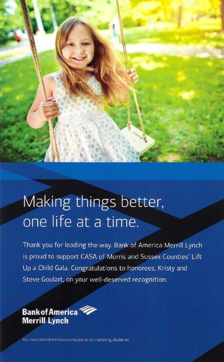 Bank of America - Merrill Lynch  Print advertising art direction and design.