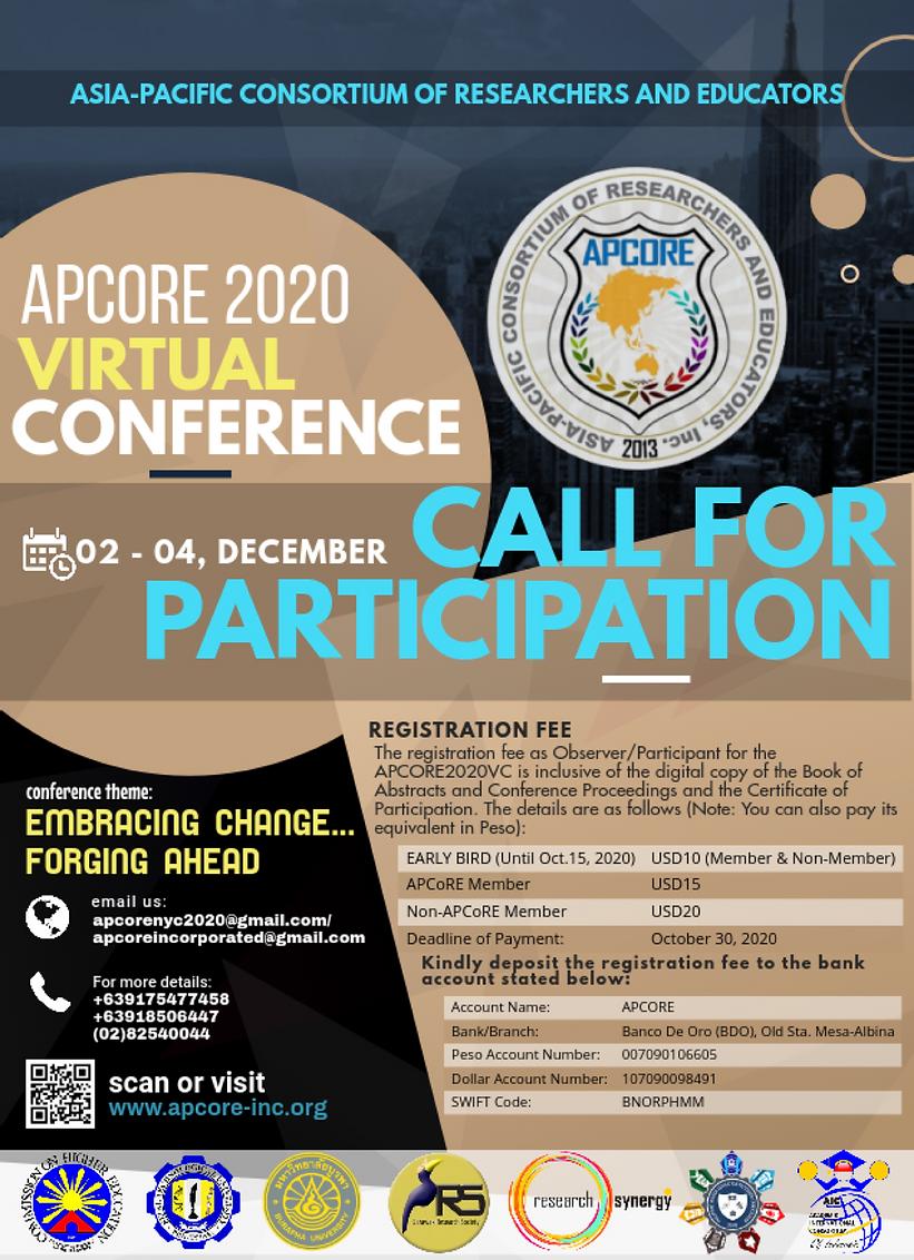 2020APCoREVC - Call for Participation_1.