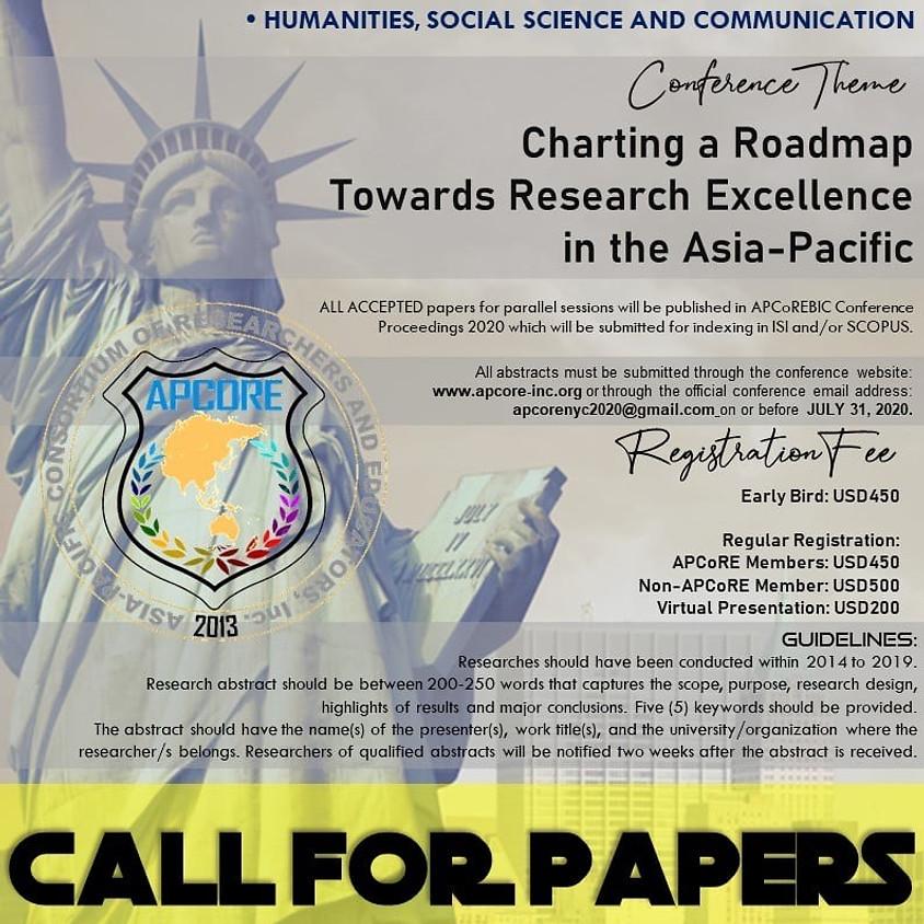 2020 APCoRE Biennial International Conference