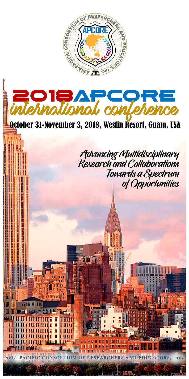 2018APCoRE International Conference (2.5