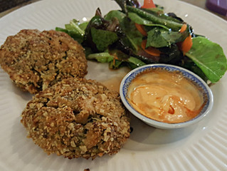 Easy Asian Influenced Salmon Cakes