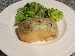 Easy Salmon in Puff Pastry