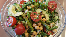 Asparagus and Bean Salad
