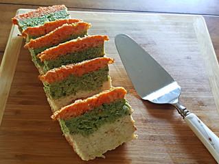Tri-Color Vegetable Terrine