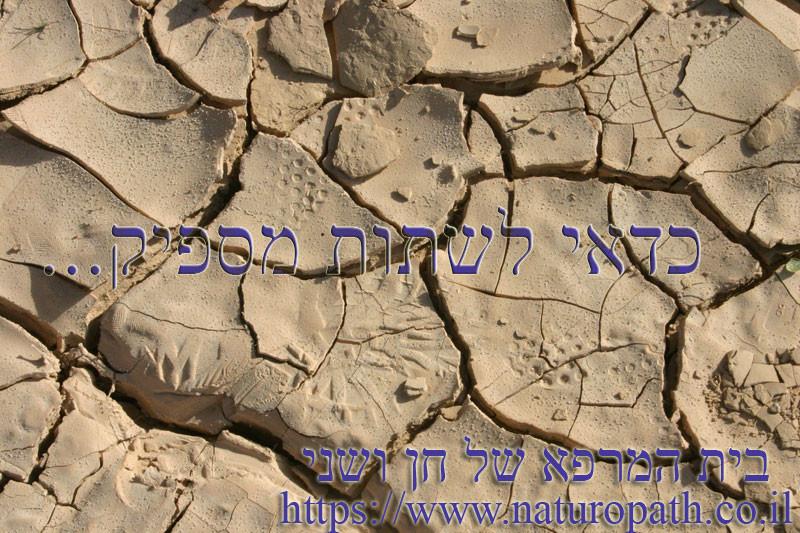 כדאי לשתות ספיק - תמונה מהמדבר