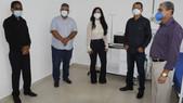 Prefeitos visitam Unidade Microrregional de Atendimento ao Covid-19, em Ituberá