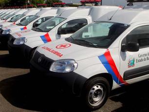 4 cidades do Baixo Sul recebem novos veículos do Governo do Estado