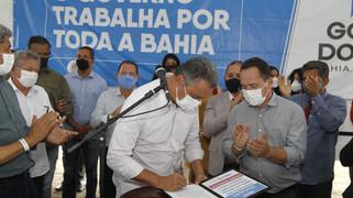 Rui entrega sistema de abastecimento em Muniz Ferreira e anuncia novos investimentos