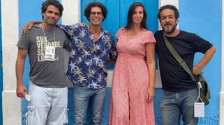 """Elenco de """"A Matriarca"""" grava cenas do filme na sede de Cairu"""