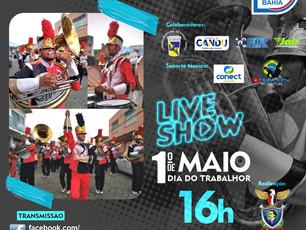 Fanjuca de Gandu realiza live em homenagem aos trabalhadores