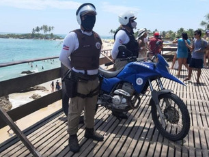 33ª CIPM intensifica Operação Verão nas praias do Baixo Sul