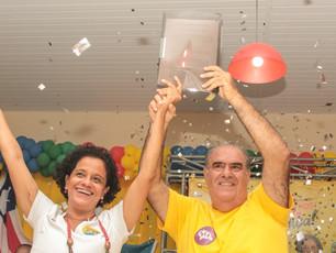 Ricardo e Flor são escolhidos em Convenção para uma Valença sustentável e mais feliz