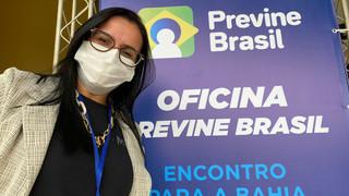 Wenceslau Guimarães marca presença no evento do Previne Brasil Ministério da Saúde