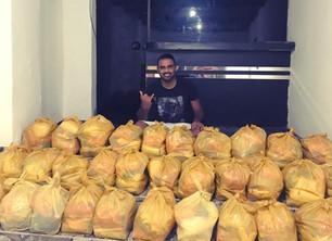 Live Solidária Pirilampo já arrecadou mais de 500 kg de alimentos para doação