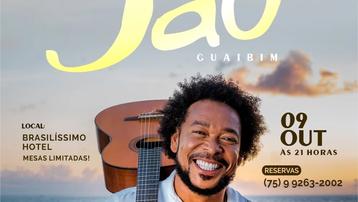 VALENÇA - Jau vai abrir a nova temporada de shows - Dia 09/10, na Praia do Guaibim