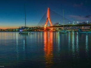Ponte Jorge Amado melhora mobilidade urbana e compõe cenário de cartão postal no verão de Ilhéus