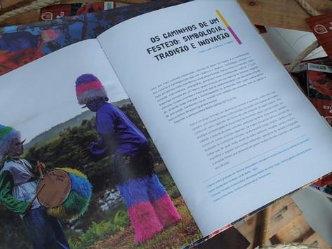 """Livro """"Trilha Patrimonial dos Caretas e Zambiapungas"""" é lançado em Nilo Peçanha"""