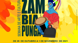 NILO PEÇANHA - Vem aí Semana de Arte e Cultura ZAMBIAPUNGA, de 29/10 a 01/11
