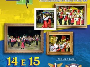 8ª edição do Concurso Intermunicipal de Fanfarras de Gandu será dias 14 e 15/09