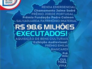 SecultBa garante transferência de R$ 98,6 milhões para artistas baianos via Lei Aldir Blanc