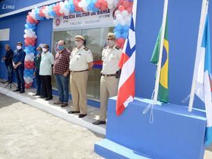 Prédio do 1°Pelotão da PM é inaugurado em Valença