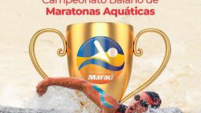 MARAÚ - Barra Grande receberá 4a etapa do Campeonato Baiano de Maratonas Aquáticas dia 06/11
