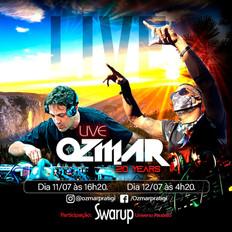 Swarup fará uma participação especial na Live Ozmar 20 anos, dia 11/07