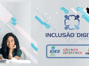 IDES: Abertas inscrições para projeto de Inclusão Digital e Cidadania
