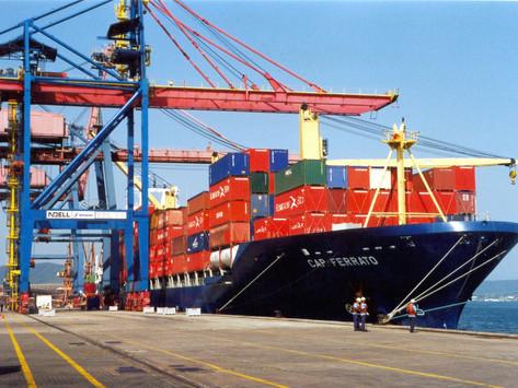 Exportações baianas crescem 1% em julho