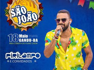 """Banda Pirilampo leva projeto """"VEM SÃO JOÃO"""" para Gandu"""
