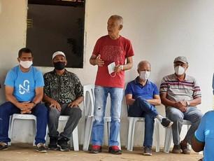 Marcos Medrado participa de eventos na zona rural de Valença