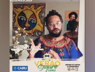 """Prefeitura de Cairu lança campanha """"Verão Seguro"""" estrelada por artistas"""