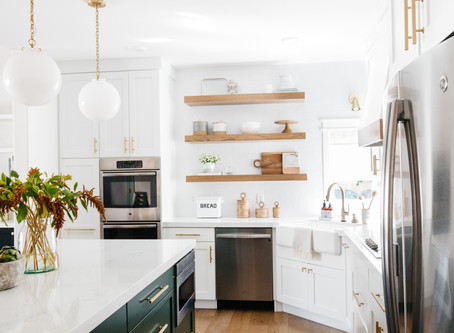 Open Shelf Styling for Every Space