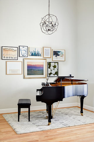 How we transformed an unused dining room into a music haven