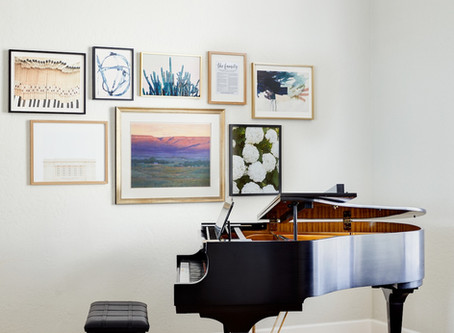 Mountain View Project Reveal: Piano Room