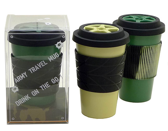 TT-8232A  Travel Mug with Lid and Sleeve