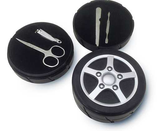 TT-8250 Tire Design Manicure set for Men