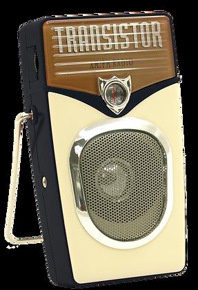 TT-8211 Retro AM/FM Radio with Aux-in