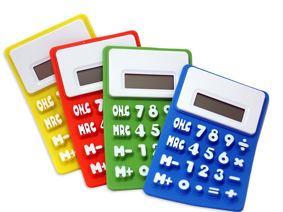 TT-7104  Silicone Calculator