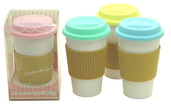 TT-8232I Travel Mug with Lid and Sleeve