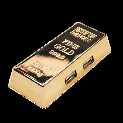 TT-8522 - Gold Bar USB Hubs