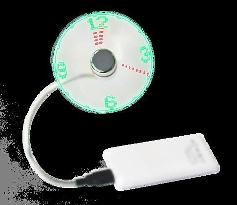 TT-6606 USB Fan with Clock