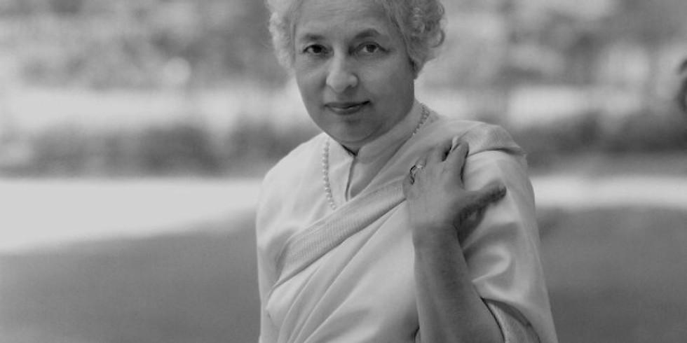 Life and thought of Vijaya Lakshmi Pandit: Prof Manu Bhagavan (CUNY)