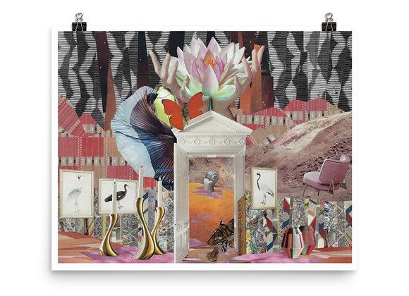 Ride n Thrive Collage Print
