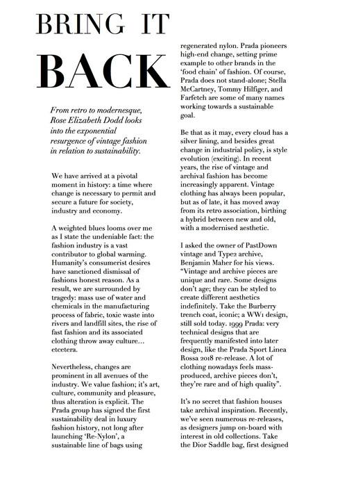 Written for MODO magazine.
